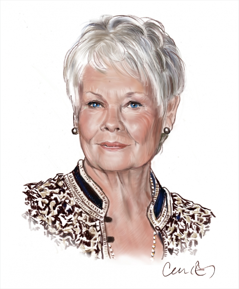 Judi Dench by Roger_Curley